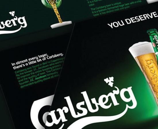 Carlsberg: The Beer for football