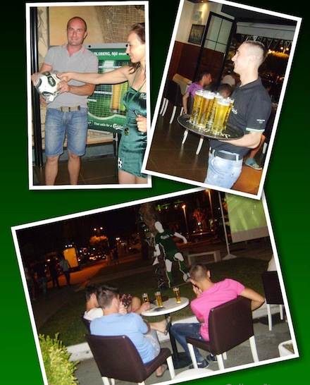 Carlsberg campaign photo collage