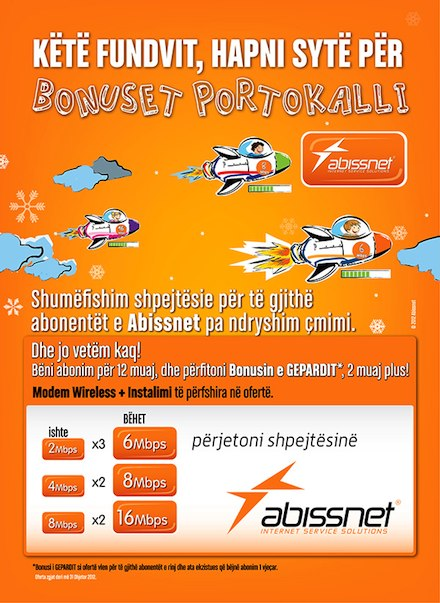 Abissnet poster