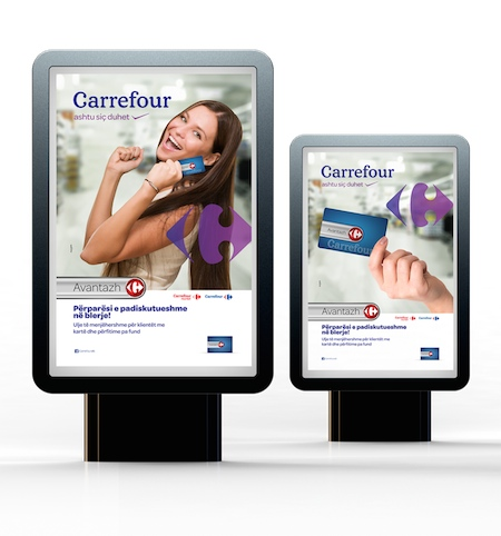 carrefour card citylights