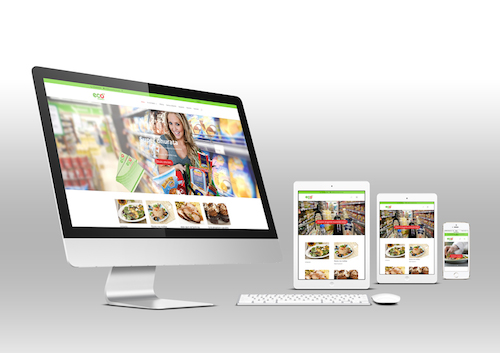 Eco Market responsive website