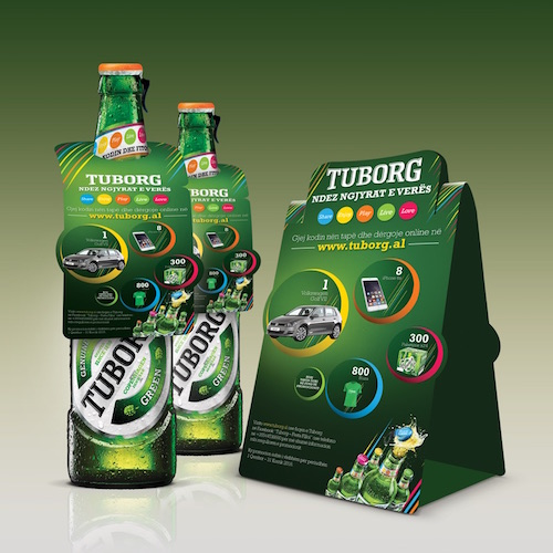 Tuborg Promo 2016 pos activation