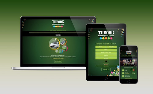 Tuborg Promo 2016 microsite
