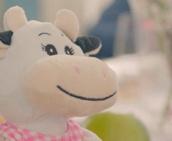 Lula, the symbol of the new Lufra milk campaign