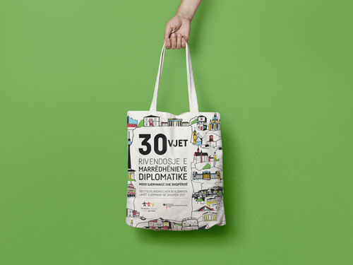 German October 2017 tote bag