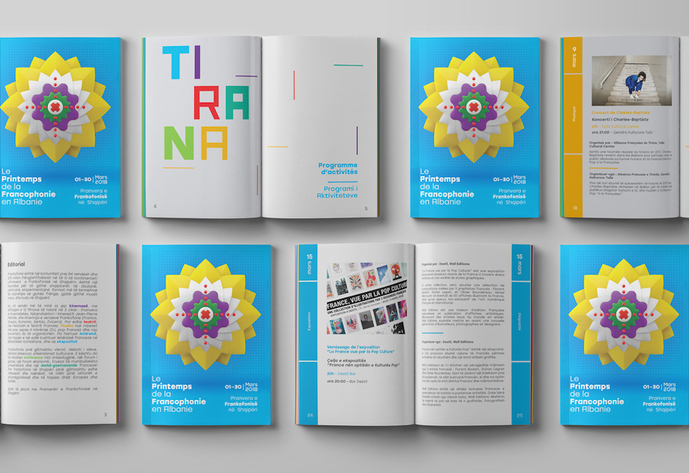 francophonie 2018 booklet