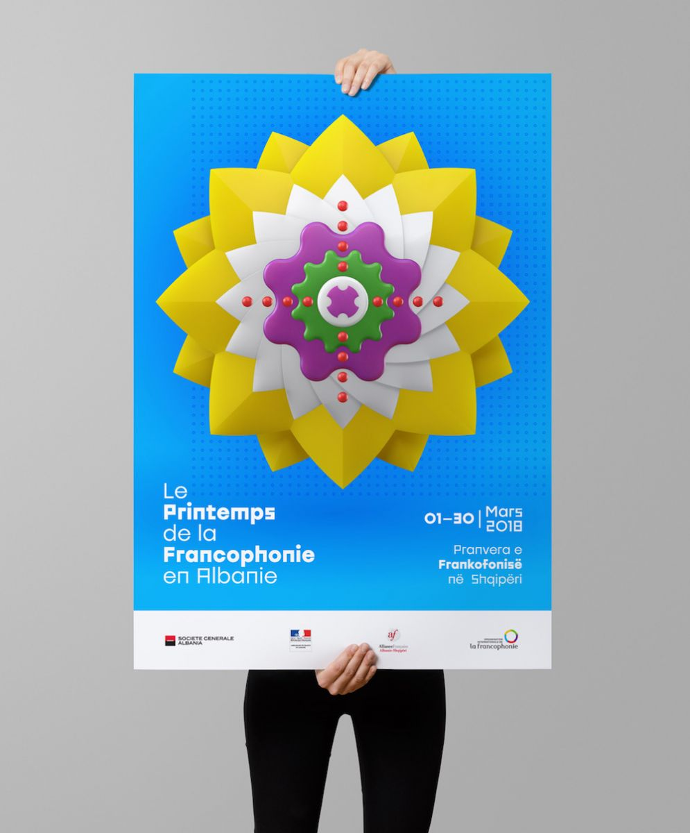 francophonie 2018 poster