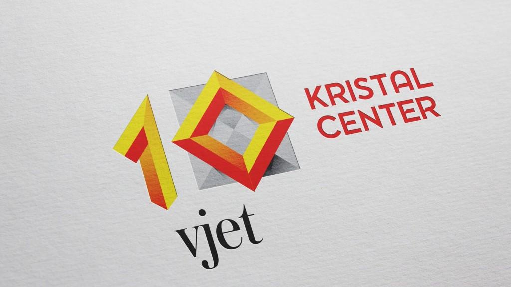 Kristal center 10 years logo