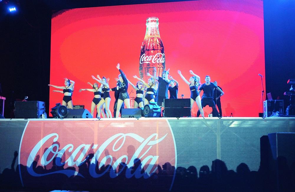 Coca-Cola Summer Fest 2018 Arilena Ara