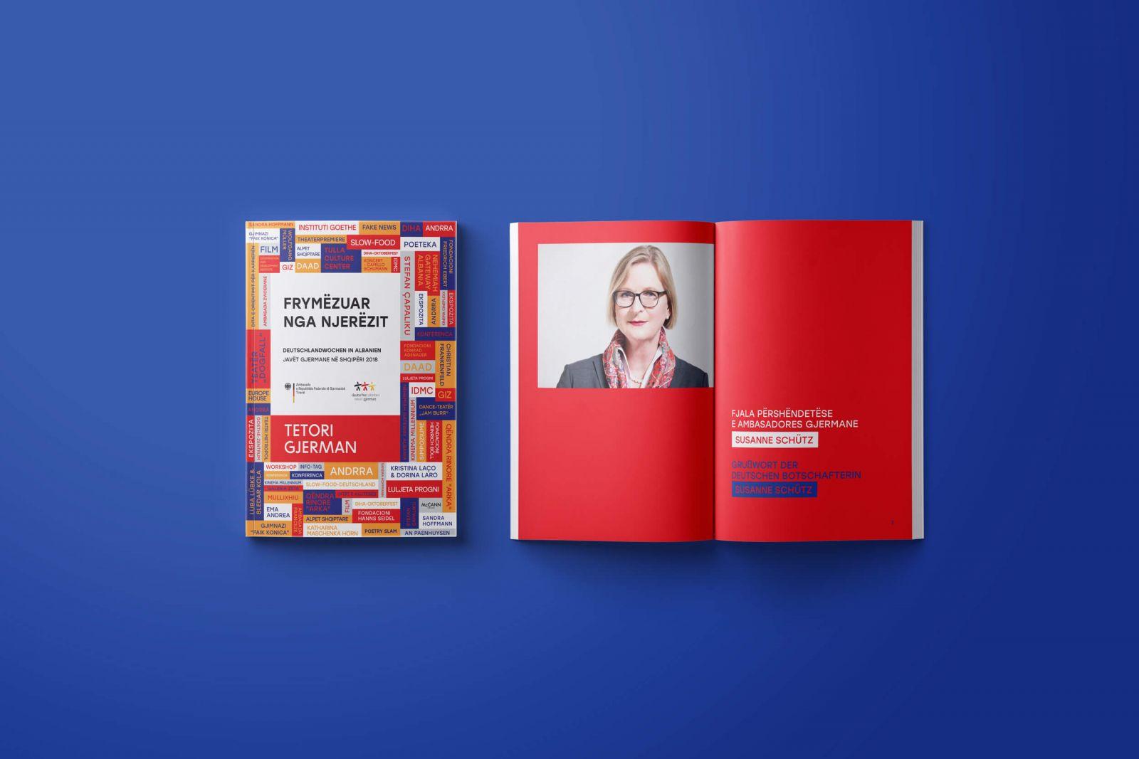 German October 2018 booklet front side