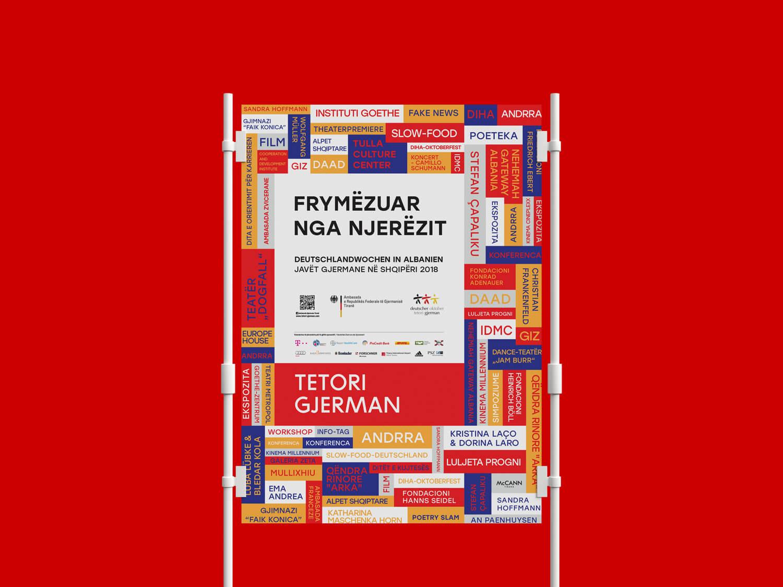German October 2018 poster