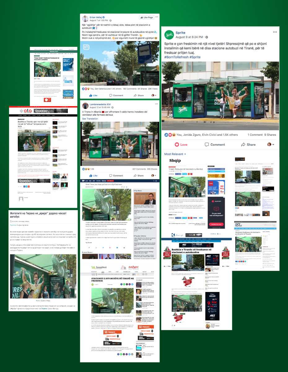 sprite oasis of refreshment coverage and posts
