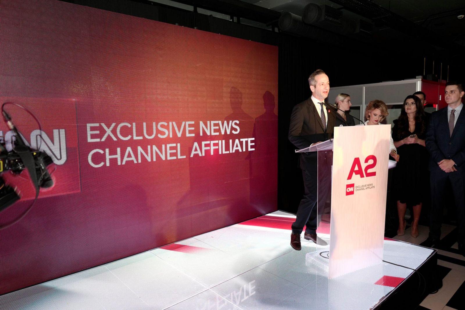A2 News Launch Event- CNN Representative