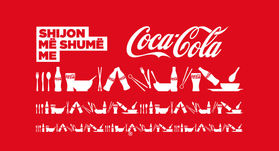 Coke and Meals - branding