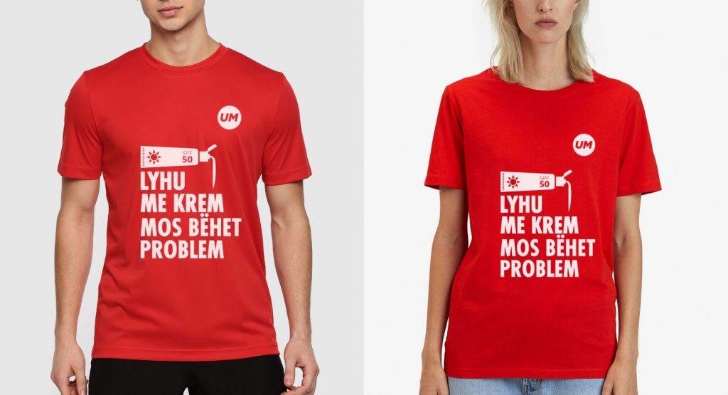 UM Impact Day 2019 - mockup of tshirts
