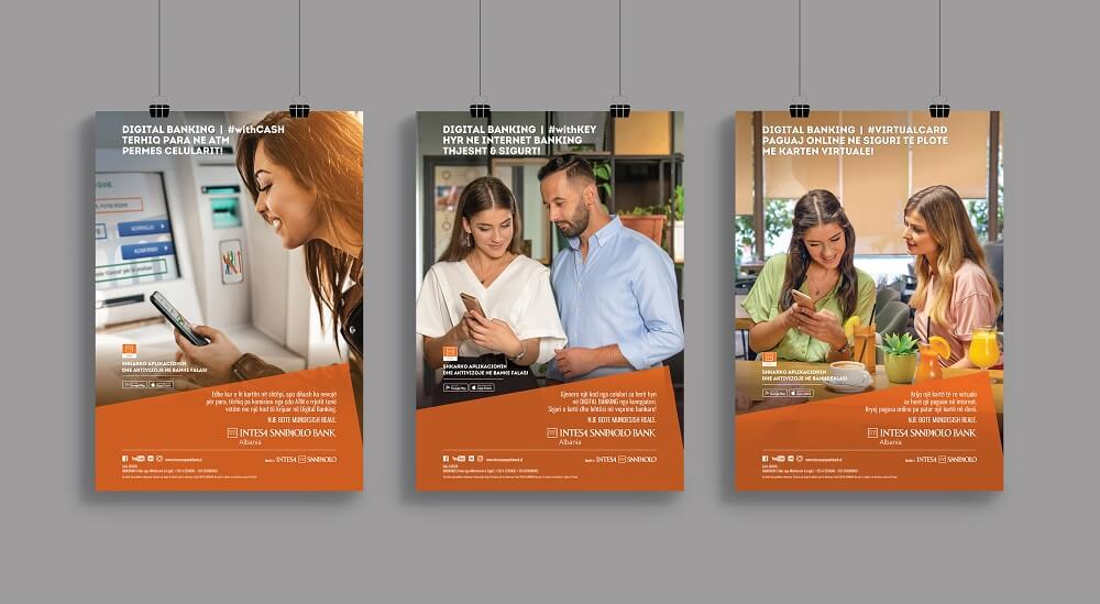 Intesa Digital Banking   Multiple Posters