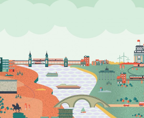 German October: From walls to bridges