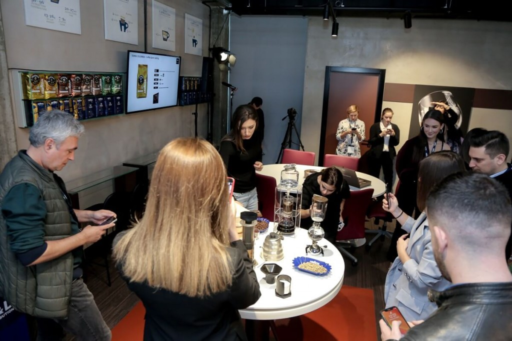 Lavazza event roundtable