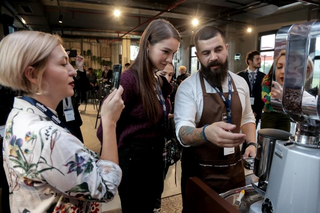 Lavazza event influencers