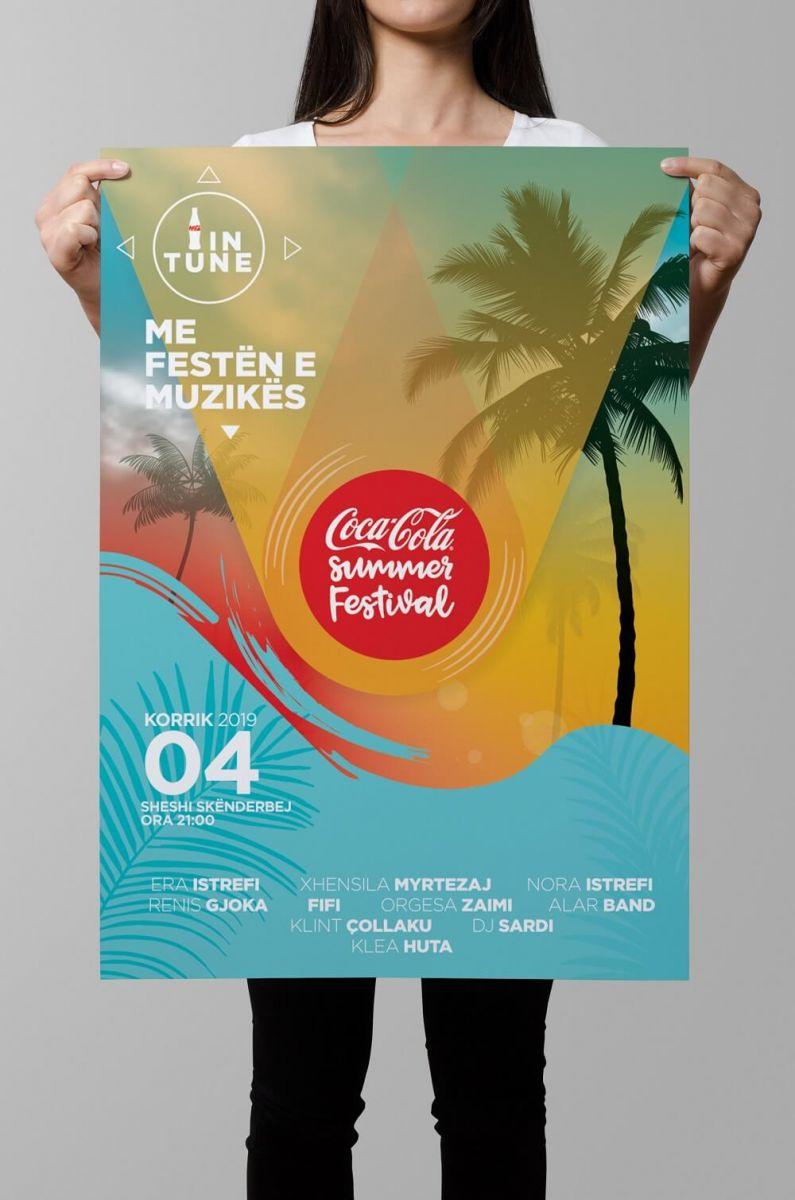 Coca-Cola Summer Festival 2019 - Poster