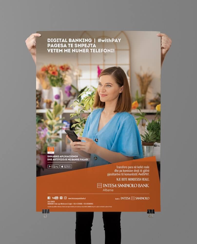 Intesa Digital Banking   Poster 70x100