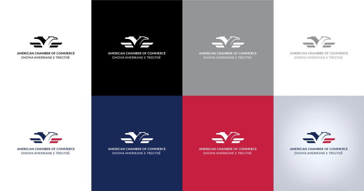 amcham logo colors