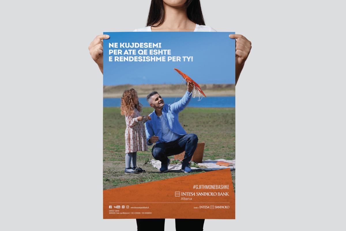 intesa corporate campaign poster