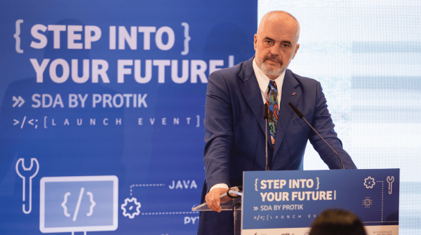 Software Development Academy event Edi Rama