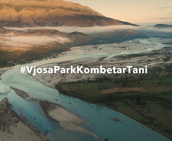 """""""Vjosa Forever"""" draws attention to Europe's last wild river amidst election"""