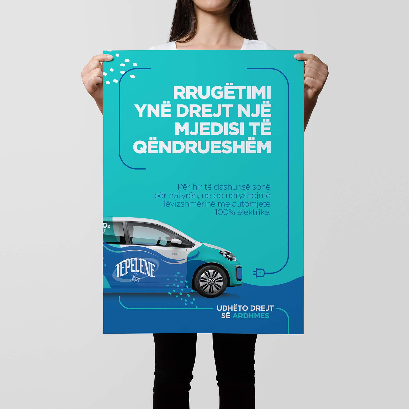 uji tepelene green mobility poster